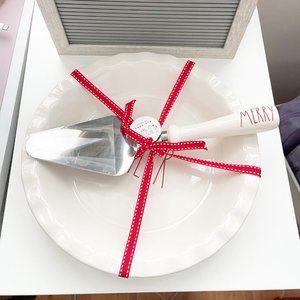 ✨ NWT Cheer Pie Plate & Server | Rae Dunn